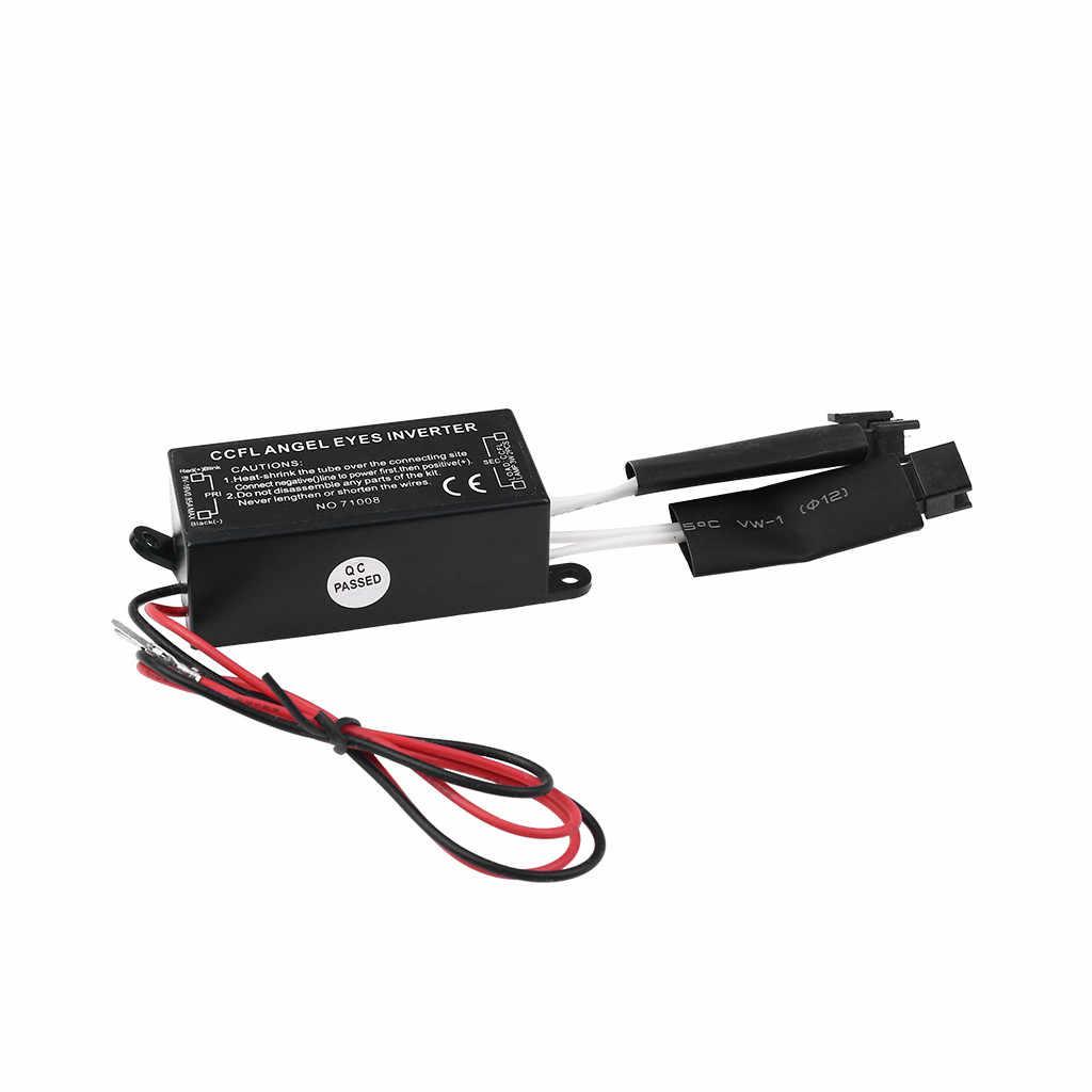 CCFL Invertörler Araba Balast 2 Çıkışlı/PC Halo Yüzükler Melek Gözler Işık 12V Kiti 5 mA -12mA 12DC 50HZ Dayanıklı Istikrarlı Invertörler