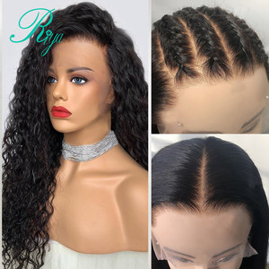Image 4 - Fake Scalp 150% 13x6 Short Curly Lace Front Human Hair Wigs Pre Plucked With Baby Hair Brazilian Remy Bob Wigs For Black Women