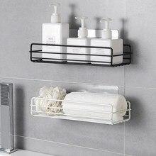 Полка для ванной комнаты настенная полка для ванной комнаты без перфоратора корзина для туалета домашняя раковина из кованого железа LB11215
