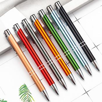 Pring your logo 500 szt Promocyjne długopisy metalowe Reklamowe kulkowe długopisy logo na zamówienie długopisy metalowe OEM długopisy metalowe hh03 tanie i dobre opinie CN (pochodzenie) Promocyjne pióra Logo długopis