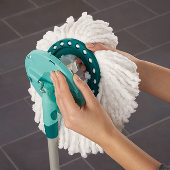 2PCS100% Brand New And High Quality Microfiber Replacement Head Hands-free Rotating Mop Cloth For Leifheit Disc