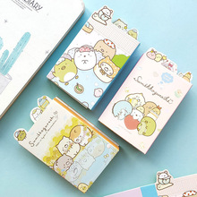 1 Pcs Sumikko Gurashi 6 Folding Memo Pad Cute N Times Sticky Notes Notepad Bookmark Stationery Stickers Gift School Supplies