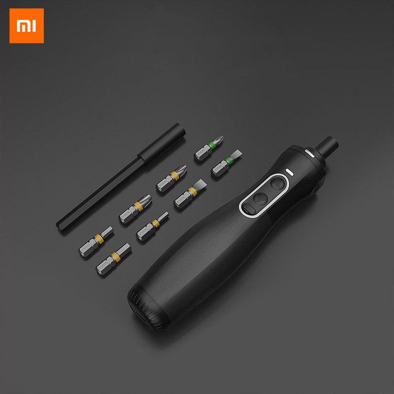 Xiaomi mijia screw driver zu hause wiha screw-driver elétrico recarregável sem fio parafuso-driver de controle manual para casa inteligente