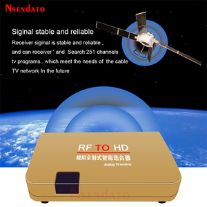 Image 4 - RF To HD All Standard Converter HD To Radio Frequency Signal RF to HD Transmitter Signal Analog TV Receiver Adapter for TV
