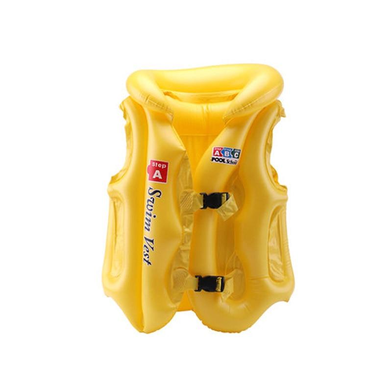 Adjustable Children Kids Babies Inflatable Pool Float Life Vest Swiwmsuit Child Swimming Drifting Safety Vests ENA88