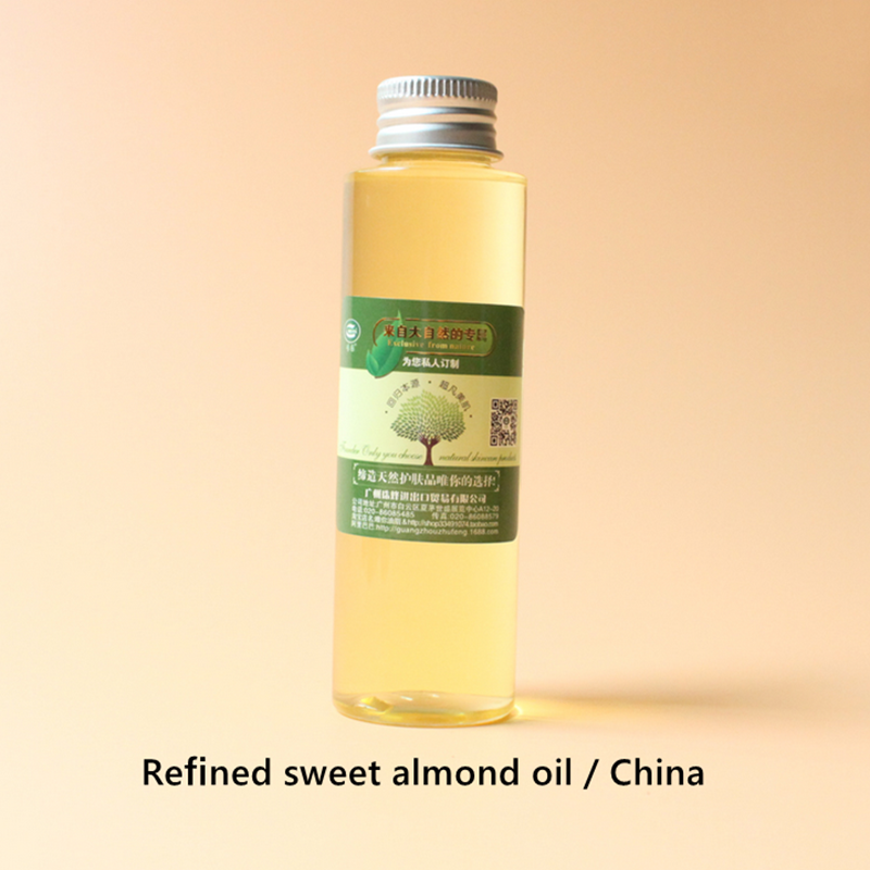 Refined Sweet Almond Oil Spain China,highly Effective Moisturizing, Smooth Skin,good Maintenance, Relieve Muscle Pain, Whitening