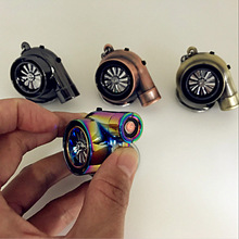Hellaflush style Turbo keychain USB charging cigarette lighter Car tur