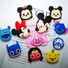 Universal Mobile Phone Stretch Bracket Cartoon Stitch Air Bag Expanding Stand Finger Holder Ring
