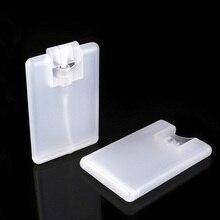 цена на 2pcs/lot 20ml Plastic Spray Perfume Box Card Moisturizing Perfume Spray Bottle Perfume Refillable Perfume Spray Bottle