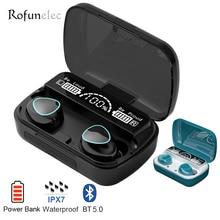 Wireless Earphones Ear-Earbuds Bluetooth 5.1 Handsfree Noise Cancel Waterproof Stereo