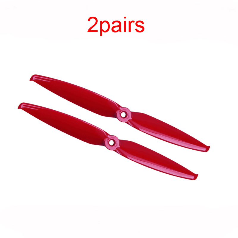 2Pairs <font><b>7042</b></font> 7.0x4.2 <font><b>Propeller</b></font> 2-blades Paddle PC Plastic CW CCW Props 5mm Mounting Hole for RC FPV Racing Drone Multirotor image