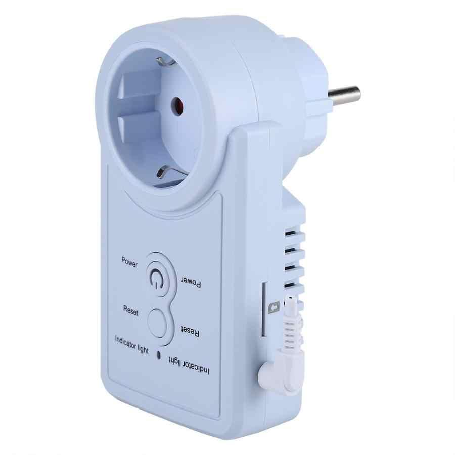 Умная gsm-розетка, умный выключатель, розетка, розетка с датчиком температуры, SMS, управление командой, штепсельная вилка европейского стандарта, оптовая продажа