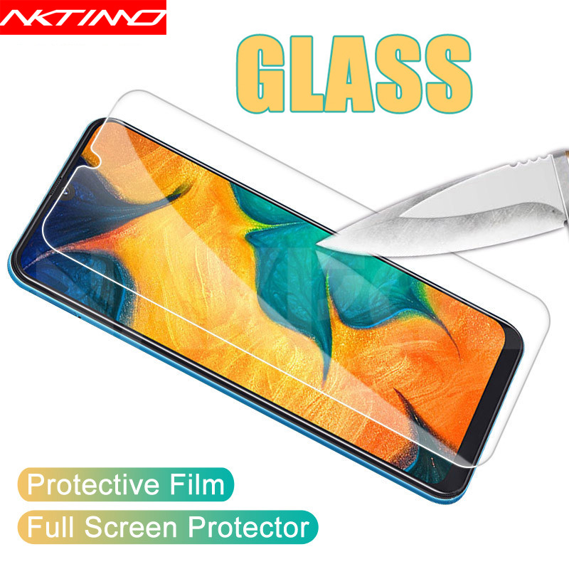 Tempered Glass Film For Samsung Galaxy A51 A71 A21 A01 A10 A10S A20 A20S A20E A30 A30S A40 A40S A50 A50S A307FN Screen Protector