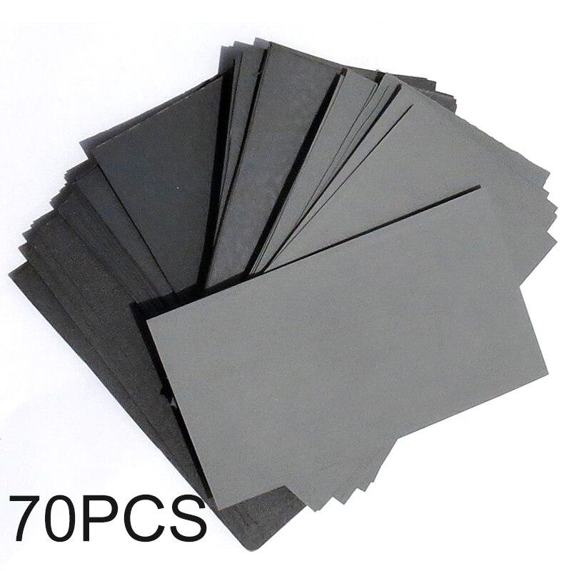 70pcs Sandpaper Sandpaper 3\