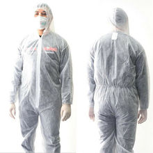 Disposable Washable Hazmat Suit AntiViru Protection Clothing Safety Coverall Waterproof Oil-Resistant Antistatic Chemical Work