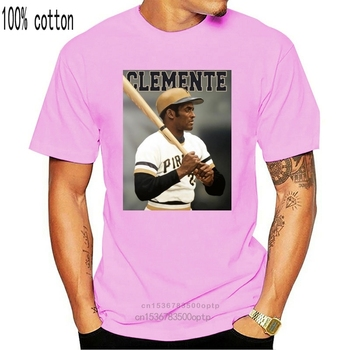 Roberto Clemente Pirates Black T-Shirt S-3Xl Printing Apparel  Tee Shirt image