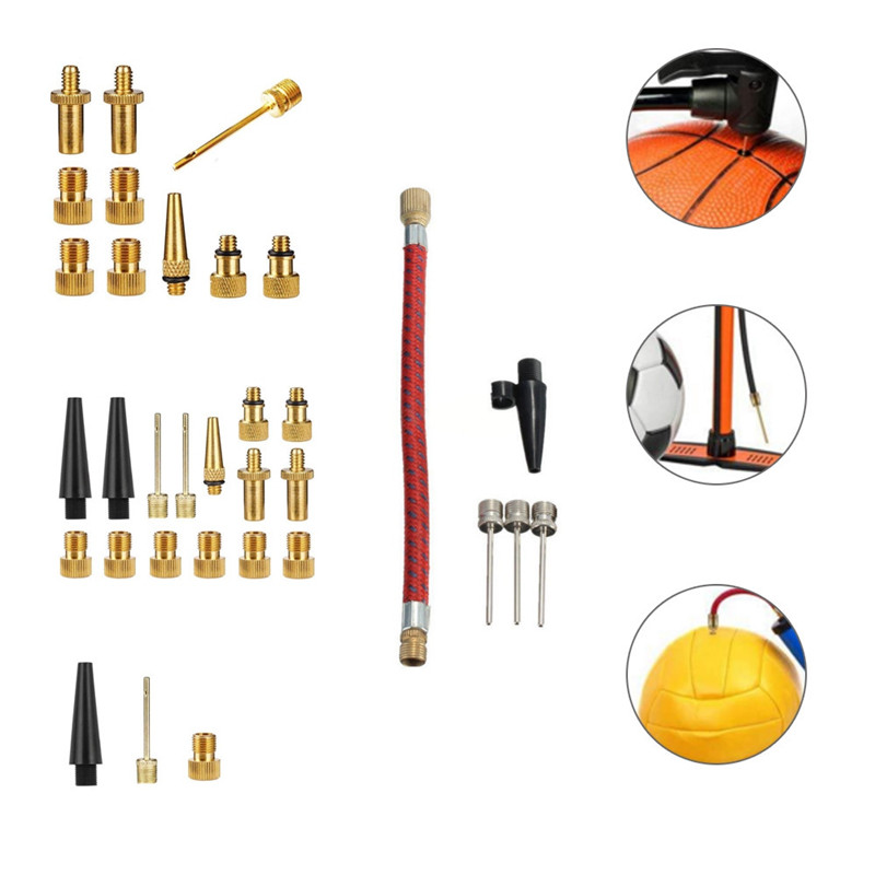 Balls Inflator Parts Extension Hose Needle Kit for for Balloon Sport Ball