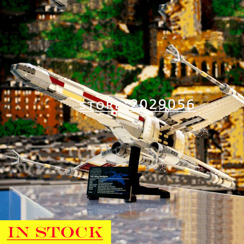 05039 In Stock Star Series Wars Red Five X-wing Starfighter Building Blocks 1559pcs Compatible 10240  81041 05004