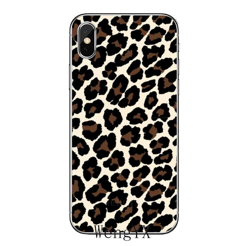 Fashion Tiger Leopard Print Panther Pat Cover Case For Samsung Galaxy S10 Lite S9 S8 S7 S6 Edge Plus S5 S4 Mini Note 9 8 5 4