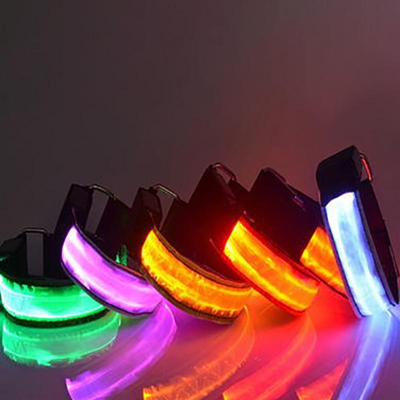 Equestrian Supply LED Luminous Horse Leg Strap Outdoor Horse Riding Safety Warning Belts Night Visible Horses Legging Decoration