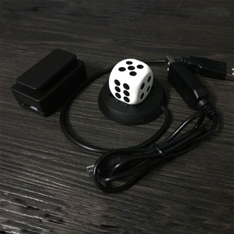 Mental Dice Cube - Wireless Charging Magic Tricks Magician Close Up Illusions Gimmick Prop Metalism  Soul Prediction Magia