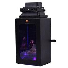 УФ-светильник для отверждения смолы с корпусом подарочной коробки для SLA DLP LCD 3D принтера solidify 405nm UV Смола автоматический поворотный круг на солнечной энергии