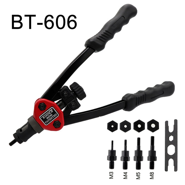 Easy Automatic Rivet Tool Set BT-606 High hardness Tools D1B8