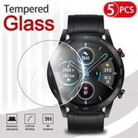 5Pcs 9H Premium Gehard Glas Voor Huawei Honor Horloge Magic 2 46Mm Smartwatch Screen Protector Film Accessoires