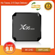 ТВ приставка x96mini android 90 2020 дюйма четырехъядерный amlogic