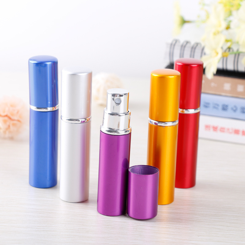 5ml Portable Mini Travel Perfume Bottle Spray Bottle Scent Case Atomizer For Spray Empty Cosmetic Containers Refillable Bottles