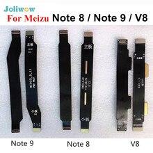 Meizu için not 8 not 9 V8 ana kurulu anakart LCD bağlayıcı Flex kablo tamir parçaları