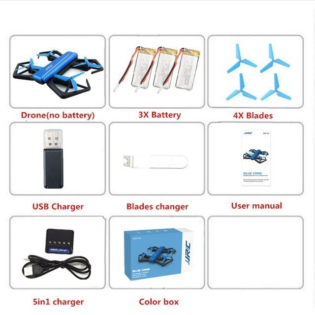 Mini Drone with 720P HD Camera RC Helicopter Altitude Hold Headless Mode Foldable RC Quadcopter VS E58 Toys for Kids Gift