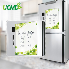 Купить с кэшбэком A4 Magnetic Whiteboard Fridge Magnets Sticker Dry wipe Marker Message Memo Pad Remind Record white Board Plan Table To Do List