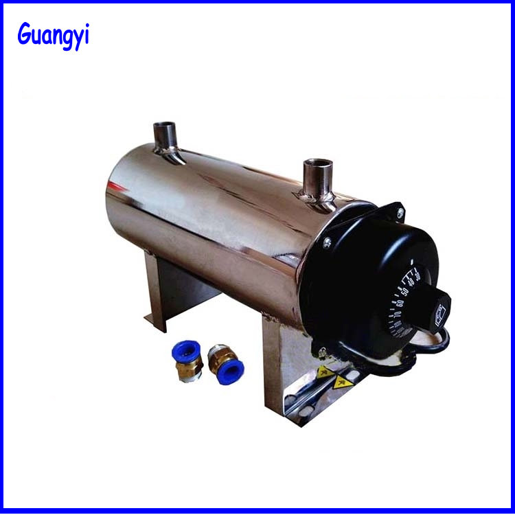 Small Compressed Air Heater Gas Heater Electrostatic Spray Pipe Heater Gas Dryer image