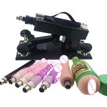Nowa automatyczna maszyna erotyczna dla kobiet i mężczyzn nowe maszyny do seksu masturbacja miłość chowany maszyna wibrator Sex Toy