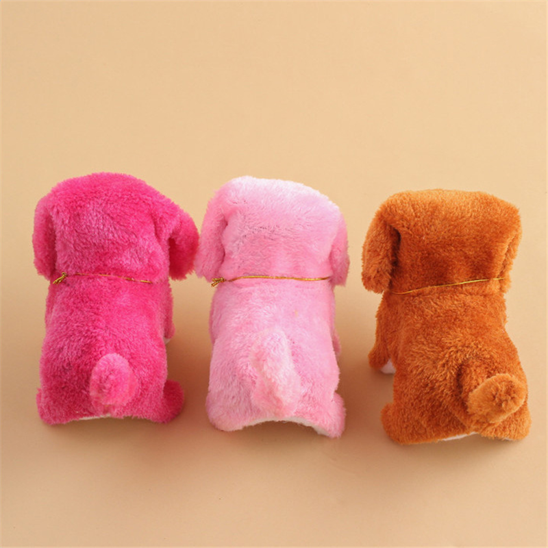 Lovely Talking Dog Robot Pet Plush Toy Speak Talk Sound Record Repeat Stuffed Toys Educational Interactive Toys For Children