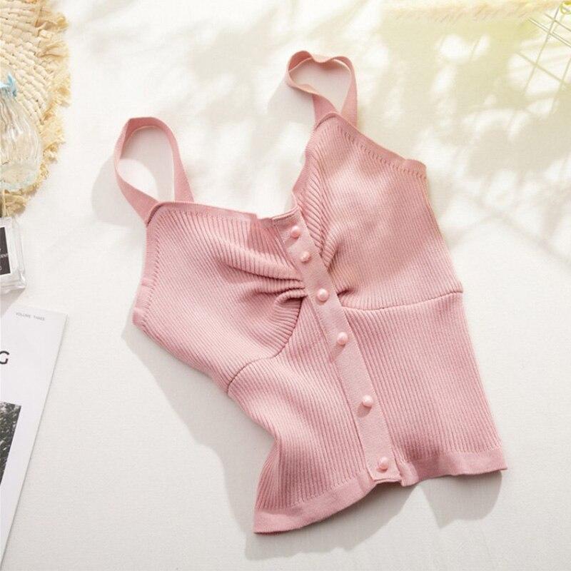 Женский однотонный трикотажный топ боди, облегающие сексуальные жилеты без рукавов, топы, майки, Женская Летняя мода 2020|Топы|   | АлиЭкспресс