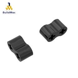 10Pcs Bricks 45590 Rubber Part Technical Axle Connector Double Flexible Building Blocks Parts DIY Kids Gift Educational Toys