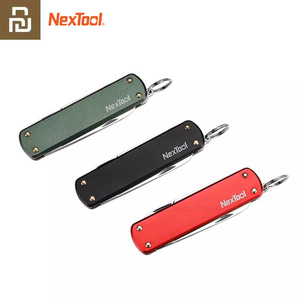 Image 1 - Многофункциональный мини нож Youpin Nextool, ножницы, отвертка, складной нож для фруктов, походный инструмент, клипса для выживания, острый резак