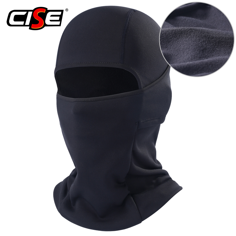 Motorcycle Balaclava Full Face Mask Flexible Warm Helmet Liner Riding Ski Paintball Bicycle Biker Snowboard Windproof Moto Hat