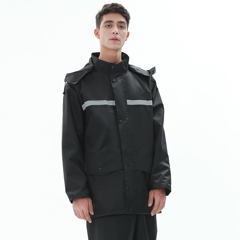 Large Size Bike Waterproof Raincoat Jacket Travel Hiking Overall Raincoat Survival Outdoor Regenjacke Motorcycle Rainwear OO50YY