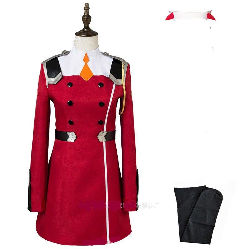 02 Zero Two Косплей Костюм Дарлинг в франкс Косплей DFXX женский костюм полный комплект платье - Цвет: package A