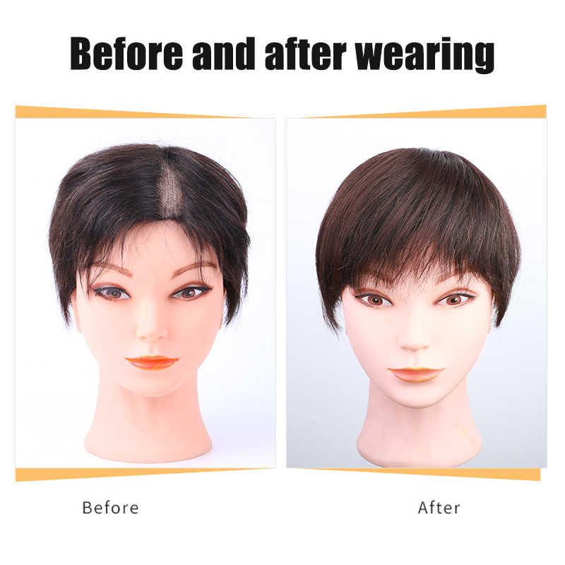 Hot Clip-Rambut Topper Rambut Sopak Ekstensi Rambut untuk Wanita CNT 66