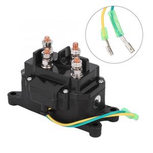 engine start button ignition switch Universal 12V ATV UTV Winch Solenoid Relay Contactor Switch 63070 for Marine car