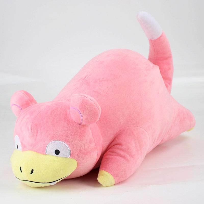 45cm Slowpoke Plush Toys Soft Stuffed Kawaii Cute Cartoon Animal Dolls For Children Christmas Gift