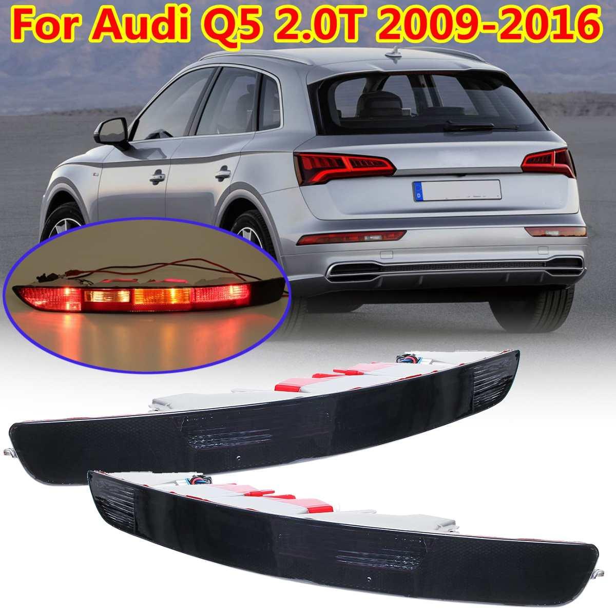 Rear Left Side Brake Parking Warning Fog Tail Light Lamp Bumper Cover For Audi Q5 2.0T 2009-16 8R0945096/8RD 945 096/8R0945096B