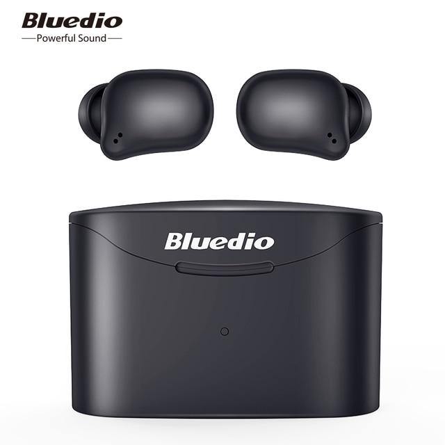 Bluetooth earphone Bluedio T-elf 2 Sports Headset with charging box 1