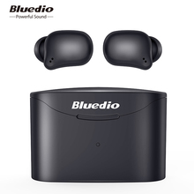 Bluedio T-elf 2 Bluetooth earphone TWS wireless earbuds waterproof Sports Headset Wireless Earphone in ear with charging box