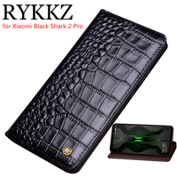 Genuine Leather Flip Case For Xiaomi Mi Black Shark 2 Pro Cover Magnetic case For Shark 2 Cases Leather Cover Phone Cases Fundas