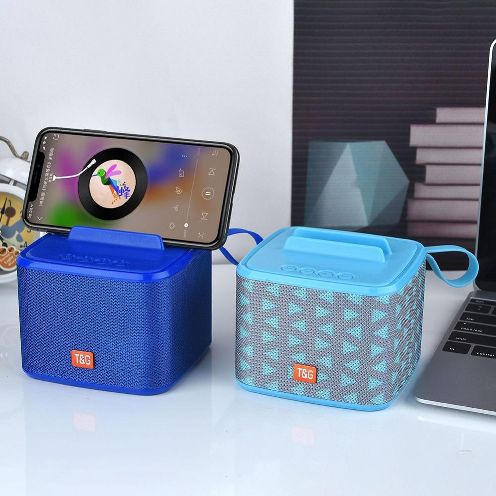 Bluetooth динамик с мобильный телефон функцией подставки куб